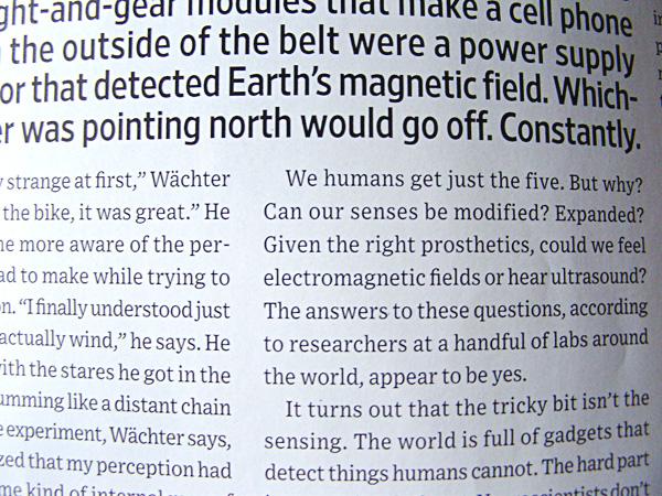 x) headline & body font Wired magazine spread - custom fonts by H&FJ ...